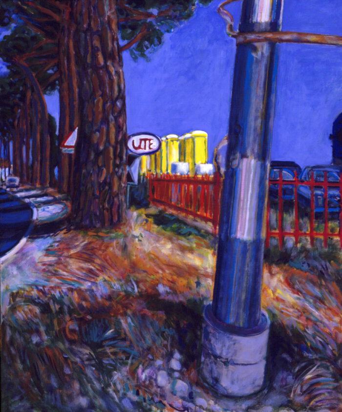 1994 05 03 Toscana Ute Acryl auf Leinwand 120x100 cm
