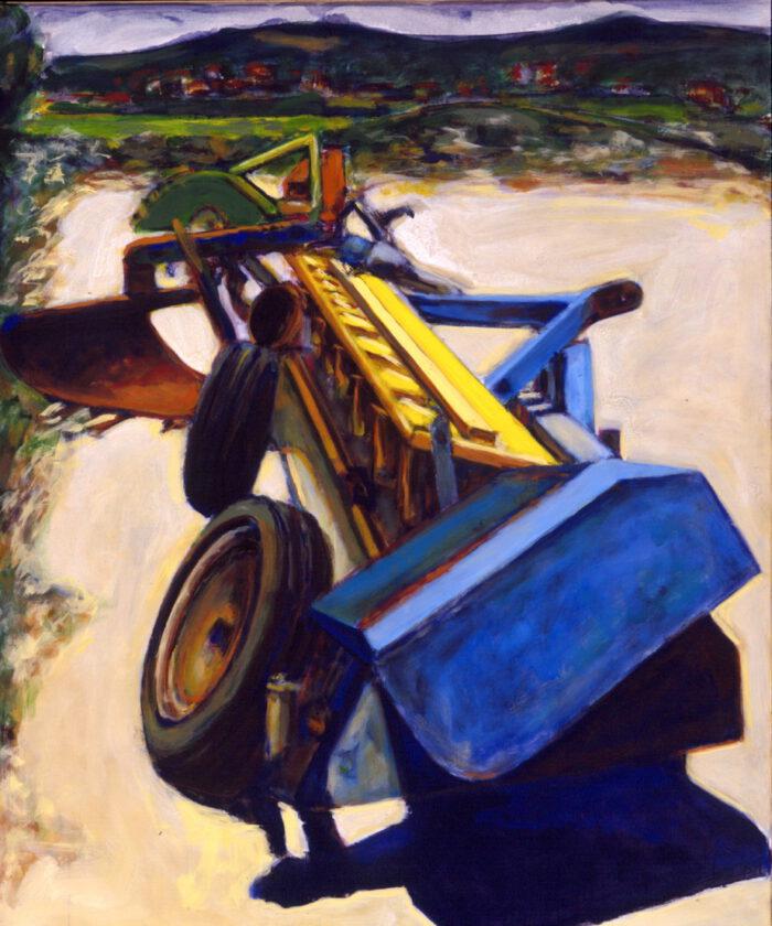 1994 05 04 o.T. Testaferrata 94 Acryl auf Leinwand 120x100 cm