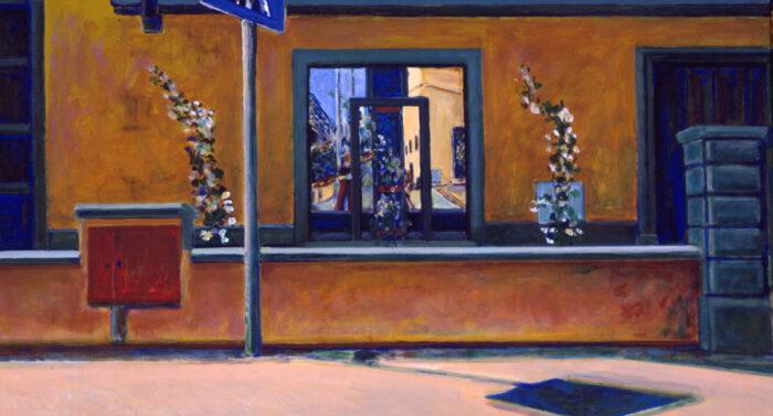 1994 05 06 Strasse Acryl auf Leinwand 100x180 cm