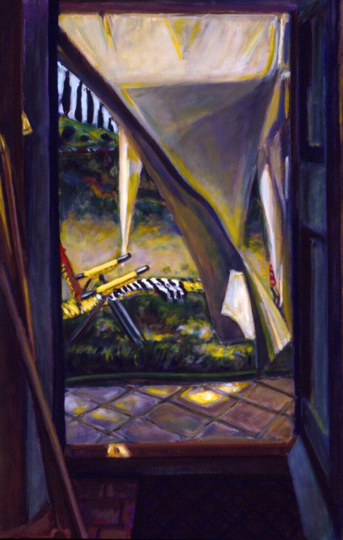 1994 05 07 Türe Testa Acryl auf Leinwand 120x100 cm