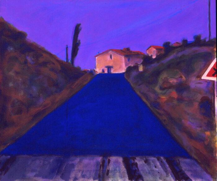 1994 05 10 o.T. Acryl auf Leinwand 60x70 cm