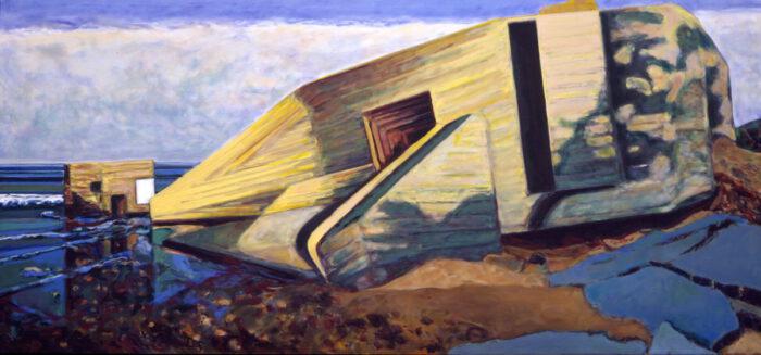 1994 08 01 Il de Ré Öl auf Leinwand 130x272 cm