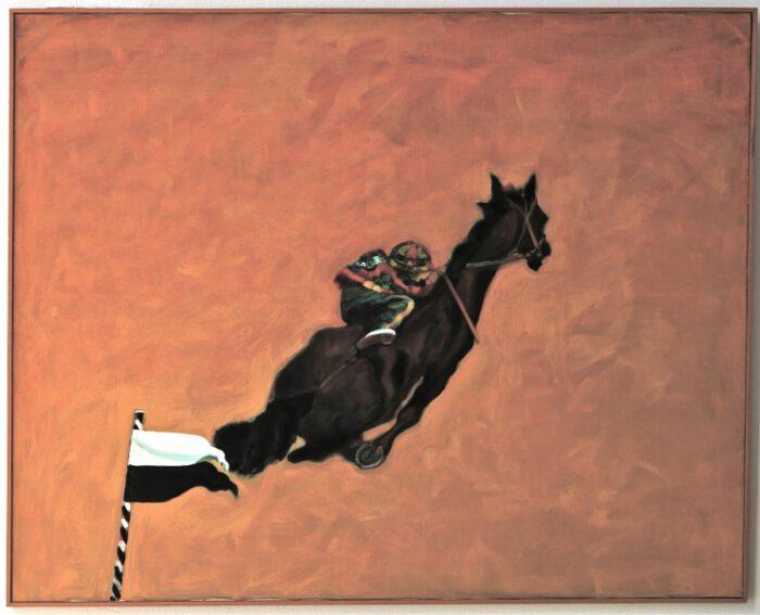 1995 01 06 Cavallo 4 Acryl Lwd. 130 x 162