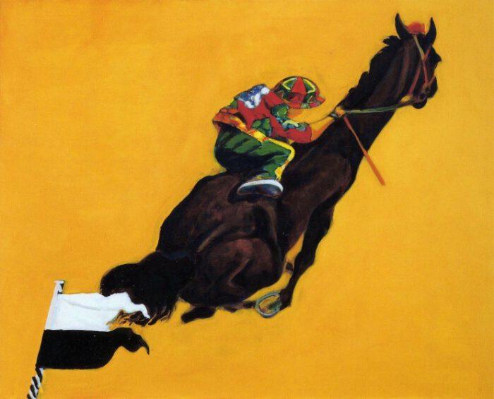 1995 01 06 Cavallo 4 Acryl Lwd. 130x162 1