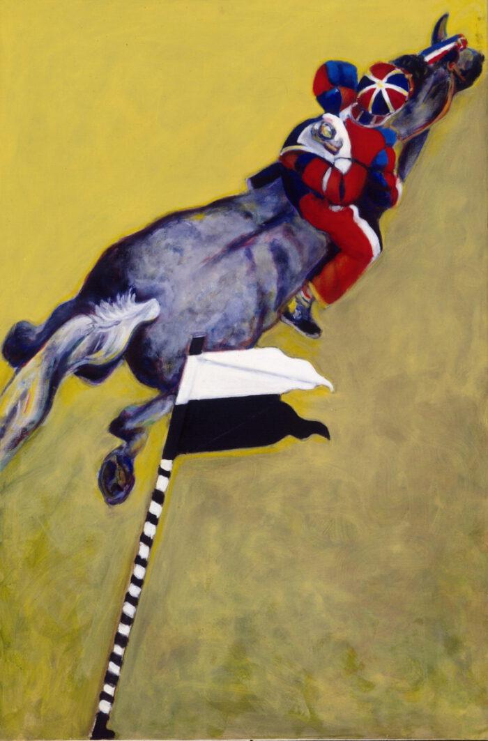 1995 01 10 Cavallo 1 Öl auf Leinwand 150x100 cm