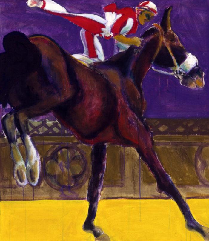 1995 01 13 Cavallo 2 Öl auf Leinwand 114x100 cm