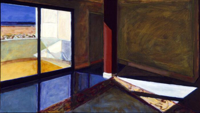 1995 04 01 Raum III Öl auf Leinwand 82 5x146 cm