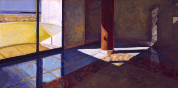 1995 04 02 Raum II Öl auf Leinwand 120x200 cm