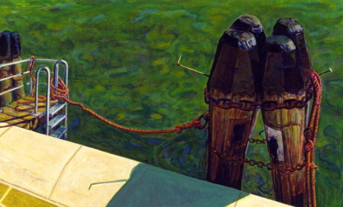 1995 05 01 Poller II Acryl auf Leinwand 138x222 5 cm