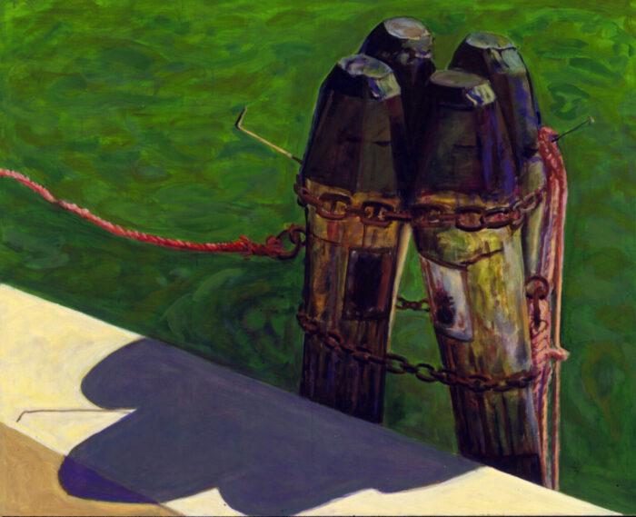 1995 05 02 Poller I Acryl auf Leinwand 139x169 5 cm