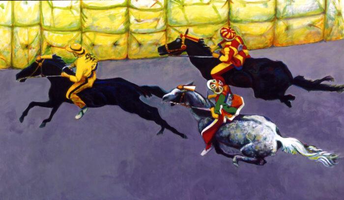 1996 01 30 Cavalli 21 Acryl auf Leinwand 178x300 cm