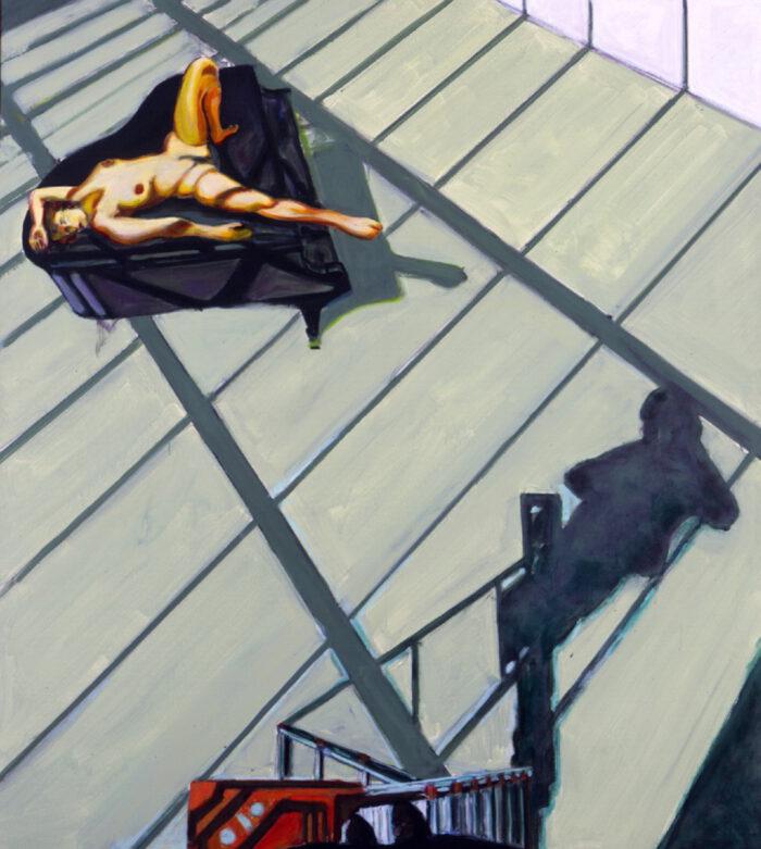 1996 05 03 o.T. Atelier 1 Acryl auf Leinwand 200x180 cm