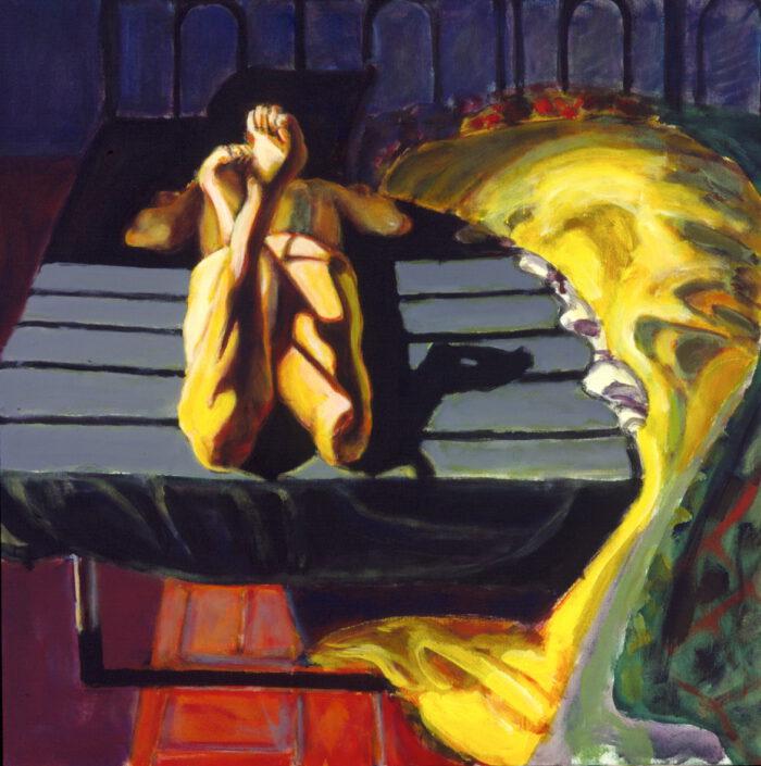 1996 06 03 Ulla 3 Acryl auf Leinwand 100x70 cm