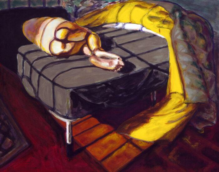 1996 06 04 Ulla 4 Acryl auf Leinwand 80x100 cm