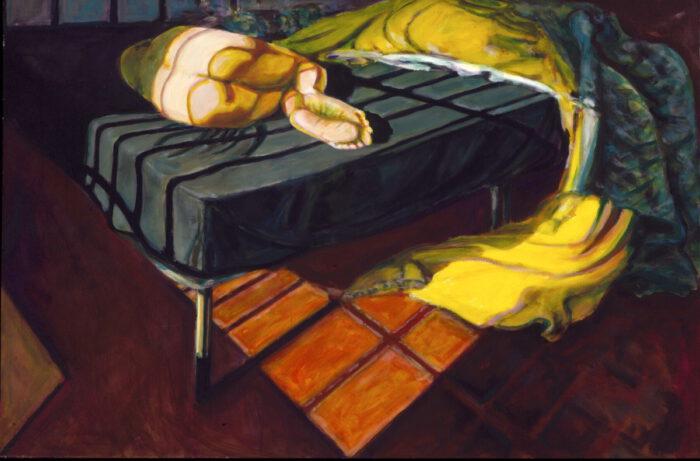 1996 06 05 Ulla 5 Acryl auf Leinwand 100x150 cm