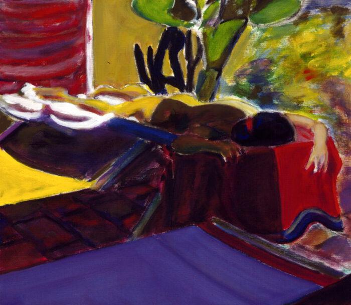 1996 07 01 Terrazza Acryl auf Leinwand 60x70 cm