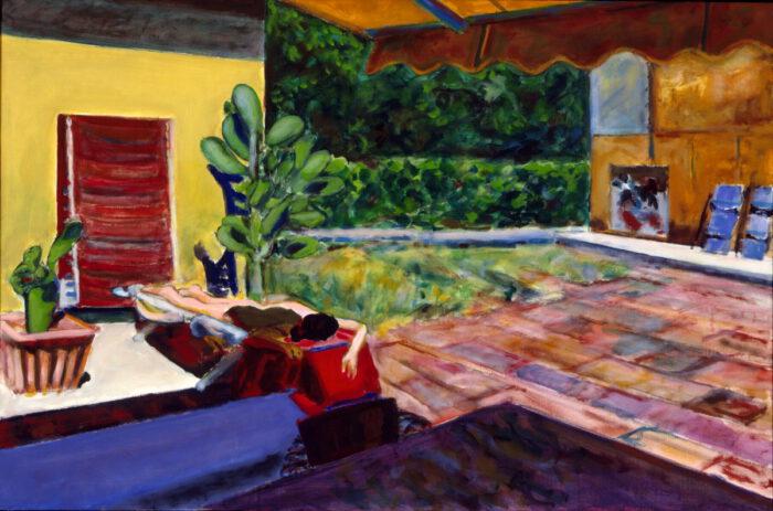 1996 07 03 Terrazza 3 Acryl auf Leinwand 100x150 cm