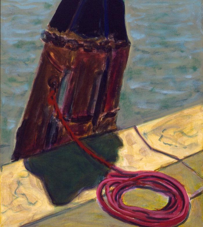 1996 18 01 Poller Acryl auf Leinwand 71x60 cm