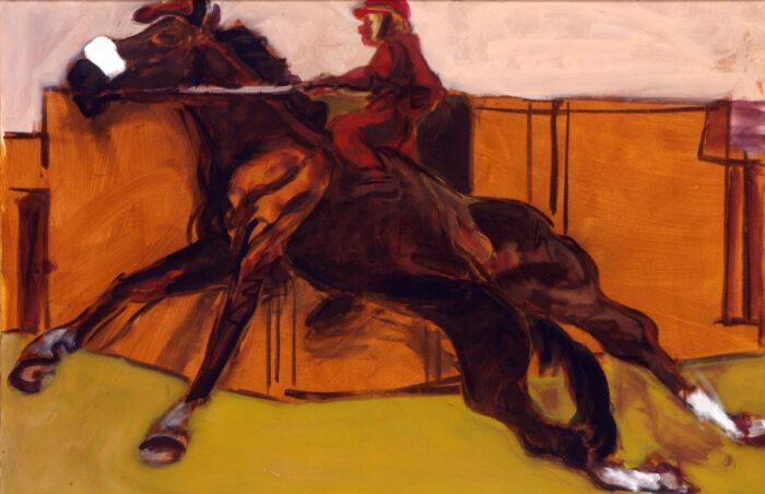1997 01 09 Cavallo 4 Acryl auf Leinwand 100x150 cm