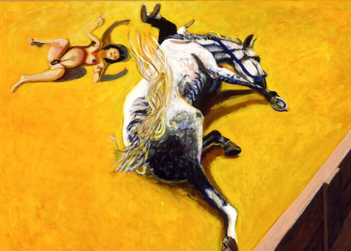 1997 01 13 Cavallo 1 Acryl auf Leinwand 150x200 cm