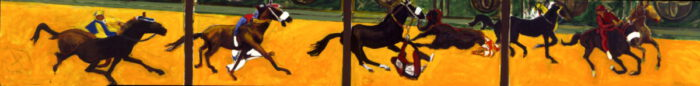 1997 01 20 Kavalkade Acryl auf Leinwand 66x522 cm