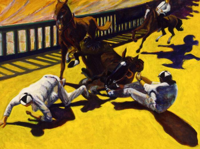 1997 01 23 Cavalli 5 Acryl auf Leinwand 150x200 cm