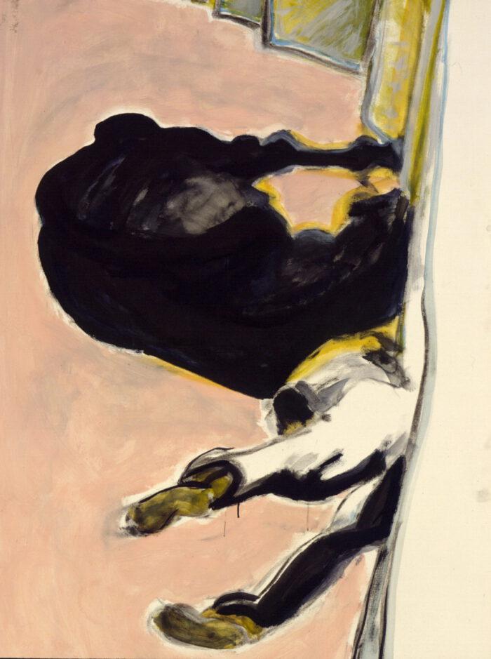 1997 02 04 Caduti 84 Acryl auf Leinwand 150x100 cm