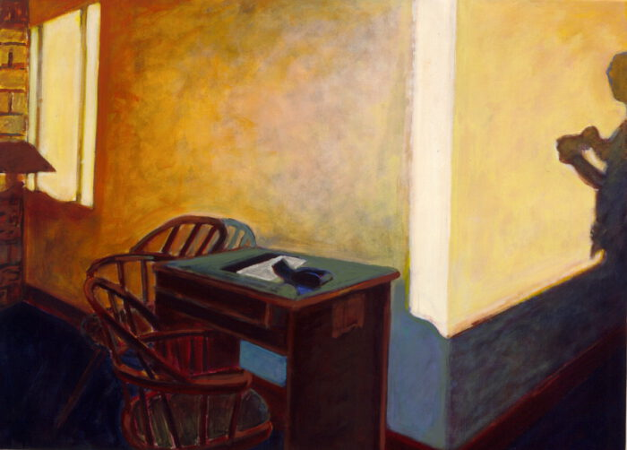 1997 03 04 Canada Hotel I Acryl auf Leinwand 87x117 cm
