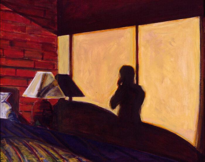 1997 03 05 Canada Hotel IV Acryl auf Leinwand 96x118 cm