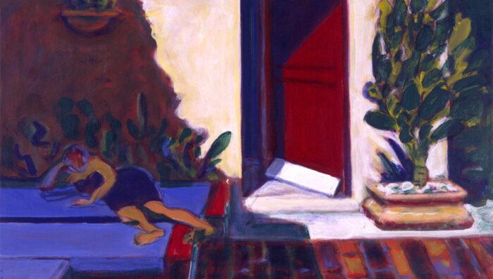 1997 11 01 o.T. Terrazza I Acryl auf Leinwand 50x80 cm