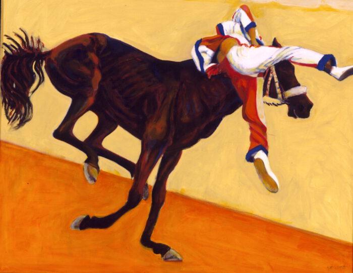 1998 01 09 Cavallo 1 Acryl auf Leinwand 120x150 cm