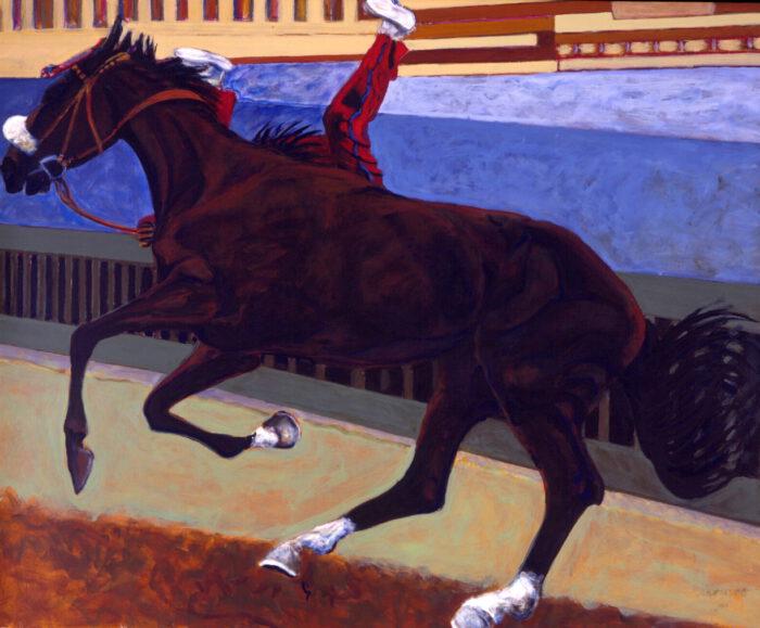 1998 01 24 Cavallo 5 Acryl auf Leinwand 210x254 cm