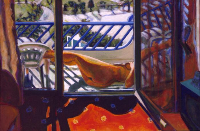 1998 02 02 Side 1 Acryl auf Leinwand 100x150 cm