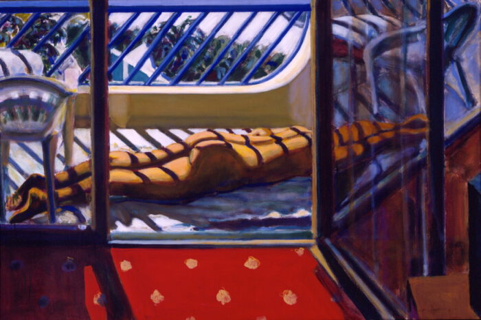 1998 02 05 Side 3 Acryl auf Leinwand 100x150 cm