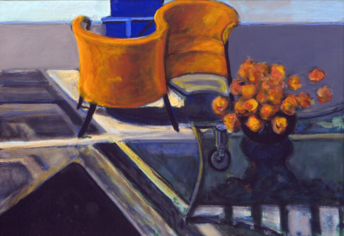 1998 07 01 Interieur II Acryl auf Leinwand 70x100 cm