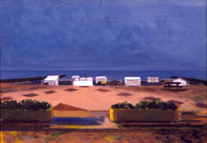 1998 08 03 Knokke Acryl auf Leinwand 70x100 cm