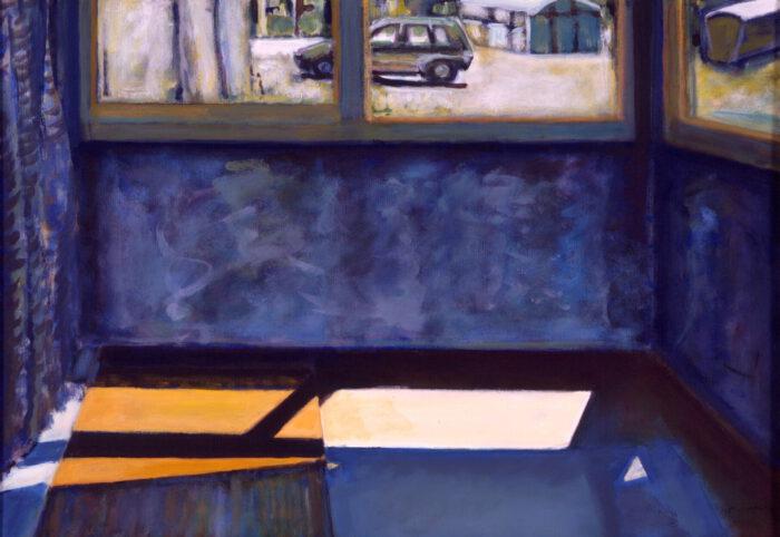 1998 11 01 o.T. Acryl auf Leinwand 70x99 cm