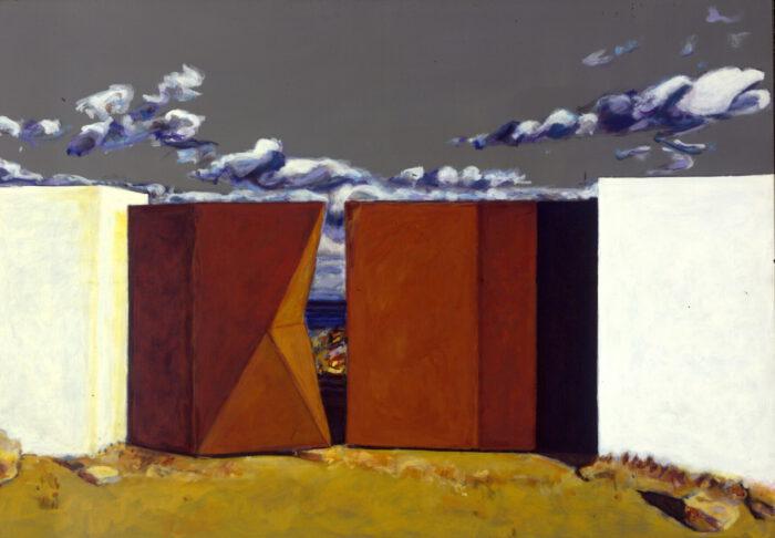 1998 14 01 o.T. Acryl auf Leinwand 140x200 cm