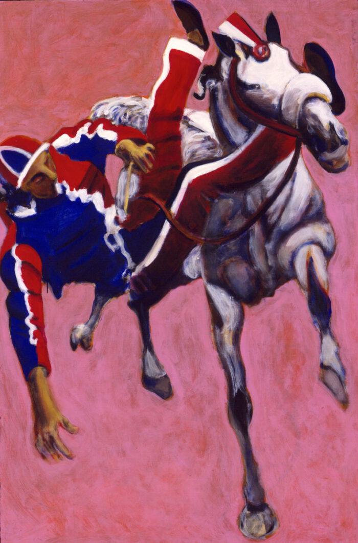 1999 01 01 Cavallo 2 Acryl auf Leinwand 150x100 cm