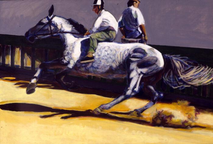 1999 01 02 Cavallo 4 Acryl auf Leinwand 120x175 cm