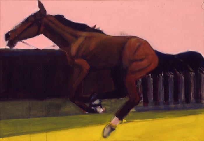 1999 01 21 Cavallo 1 Acryl auf Leinwand 70x100 cm