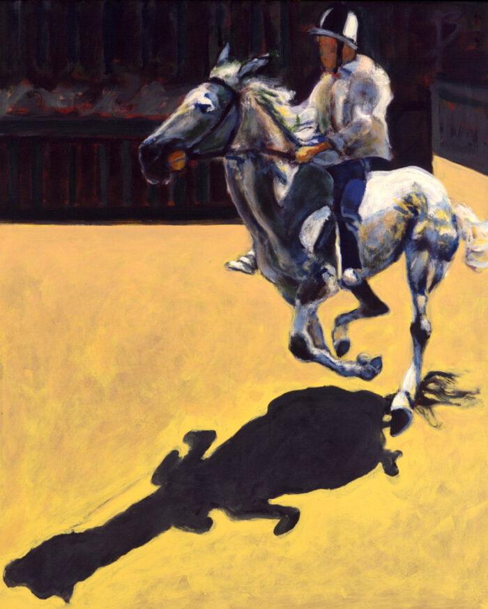 1999 01 26 Cavallo 5 Acryl auf Leinwand 101x82 5 cm