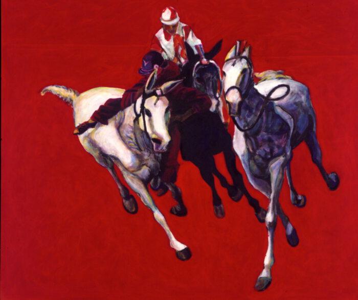 1999 01 27 Cavalli 18 Acryl auf Leinwand 170x200 cm