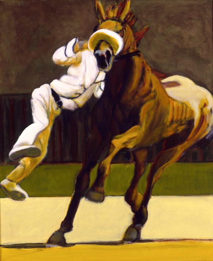 1999 01 29 Cavallo 7 Acryl auf Leinwand 120x100 cm