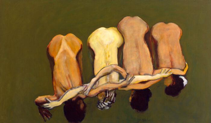 1999 04 01 o.T. I Acryl auf Leinwand 120x200 cm