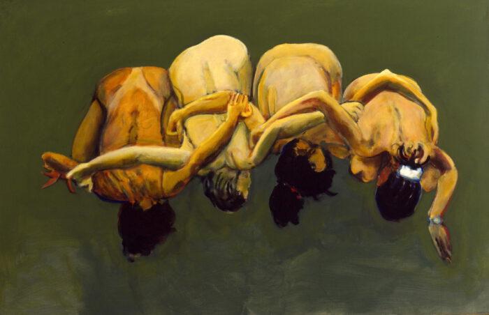 1999 04 03 o.T. II Acryl auf Leinwand 130x200 cm